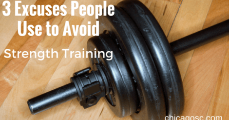 3 Excuses People Use to Avoid Strength Training