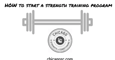 How to Start a Strength Training Program (step by step)