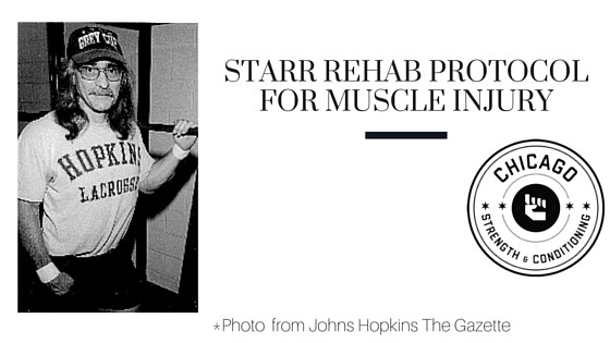 Starr Rehab Protocol for Muscle Injury