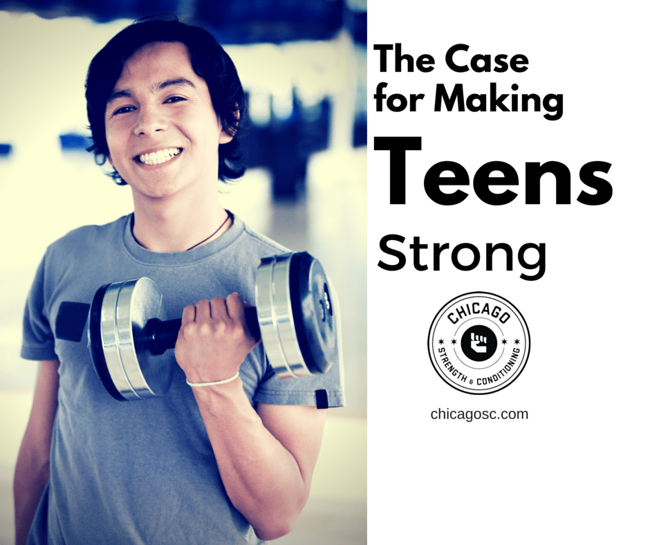 teenagers and strength training programs