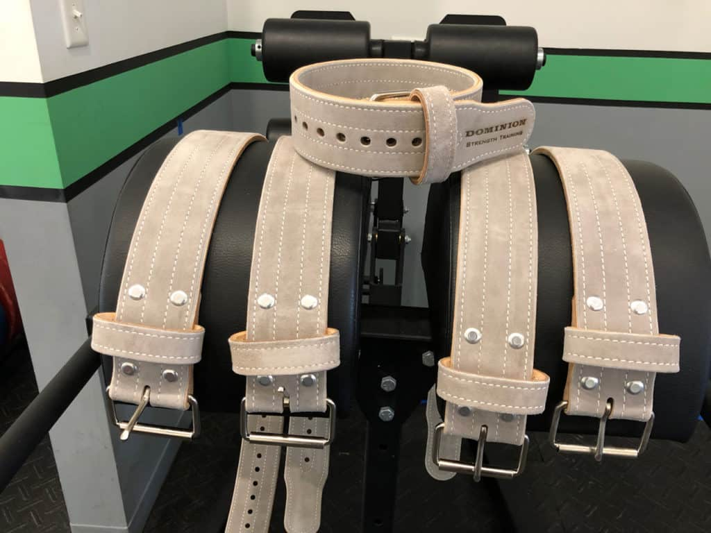 Dominion 3-inch Lifting Belts